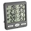 """Термогигрометр TFA """"Klima-Monitor"""", цифровой, с 3-мя беспроводными датчиком"""