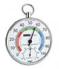 Термогигрометр TFA 45.2027, металл/пластик, хром