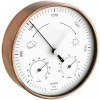 Аналоговая метеостанция TFA арт. 20.2027.51, сталь
