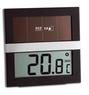 """Термогигрометр TFA """"Eco Solar"""", цифровой с солнечной батареей"""